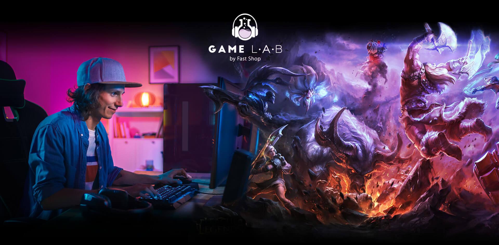 Resultado de imagem para arena game lab