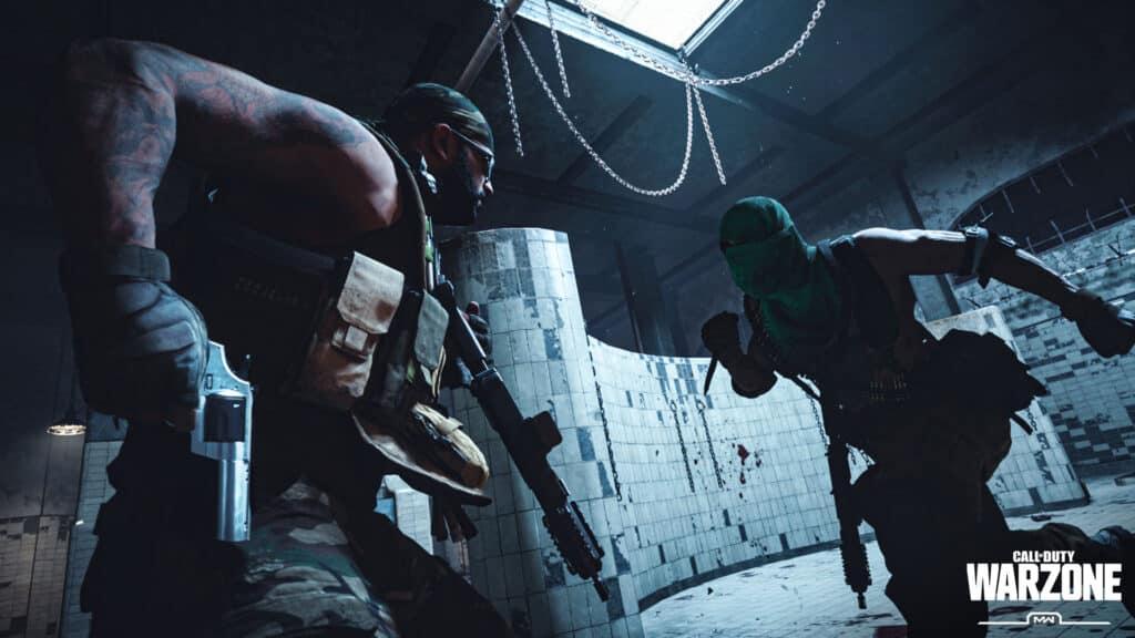 Imagem de exibição da Activion sobre o Gulag presente no Battle Royale - Warzone.