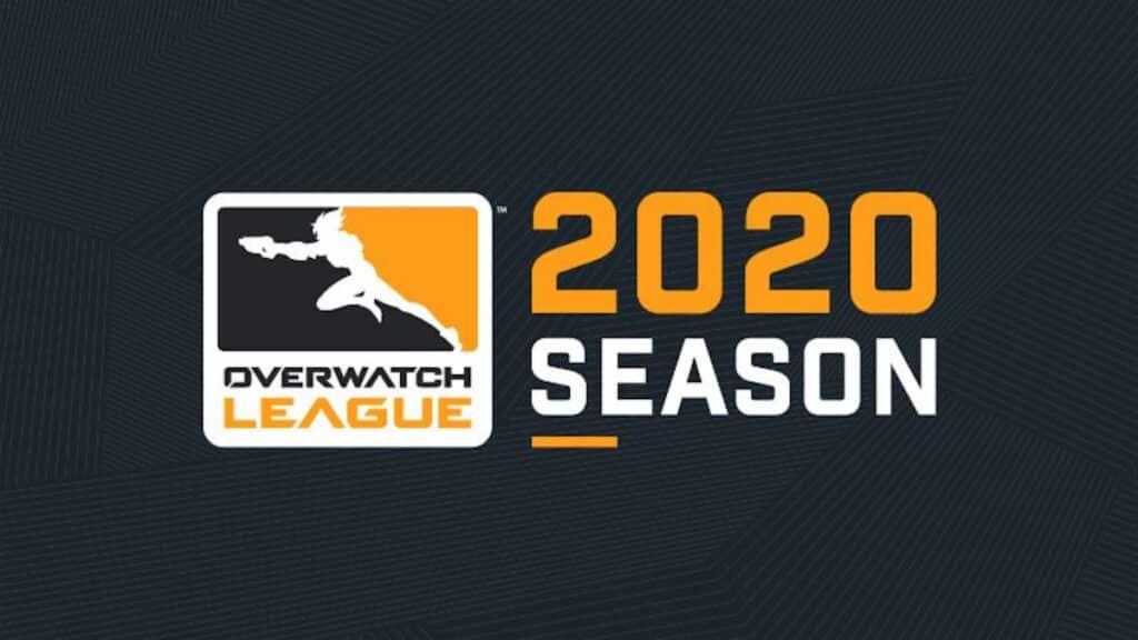 Logo da Overwatch League 2020 que teve cancelamentos pelo corona virus