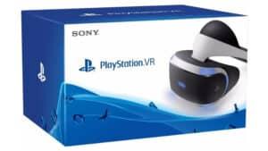 Caixa do Playstation VR